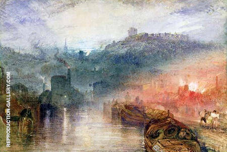 Dudley By Joseph Mallord William Turner