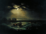 Fishermen at Sea By Joseph Mallord William Turner