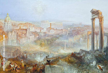Modern Rome By Joseph Mallord William Turner