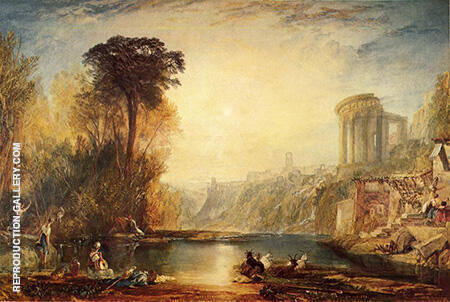 Composition of Tivoli By Joseph Mallord William Turner