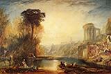 Composition of Tivoli By Joseph Mallord William Turner