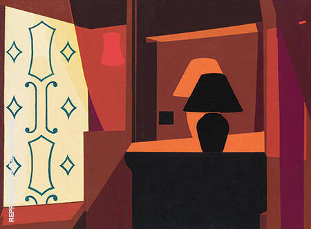 Braque Curtain By Georges Braque - Oil Paintings & Art Reproductions - Reproduction Gallery