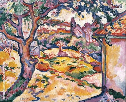 L'Olivier pres de l'Estaque By Georges Braque