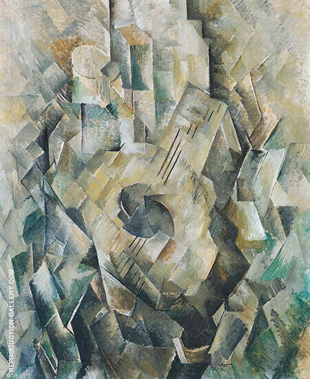 Mandora c1909 By Georges Braque