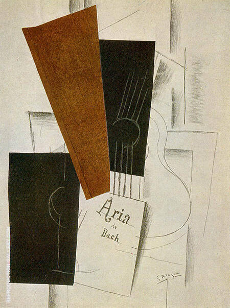 Aria de Bach Painting By Georges Braque - Reproduction Gallery