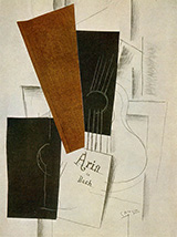 Aria de Bach By Georges Braque