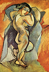 Big Nude By Georges Braque