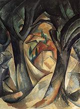 Big Trees at Estaque By Georges Braque