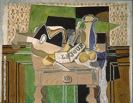 Still Life le Jour 1929 By Georges Braque