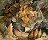 Fruit Dish c1908 By Georges Braque