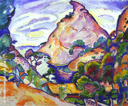 La Calanque Gray Weather 1907 By Georges Braque