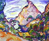 La Calanque Gray Weather 1907 By Georges Braque