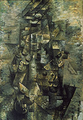 Man with a Guitar 1911 By Georges Braque