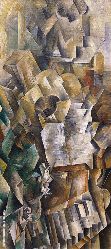 Piano and Mandola By Georges Braque