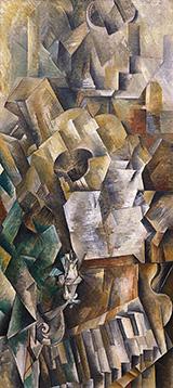 Piano and Mandola By Georges Braque