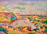 Landscape near Antwerp By Georges Braque