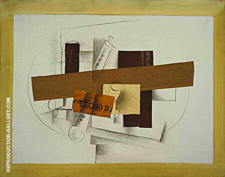 The Clarinet 1913 By Georges Braque