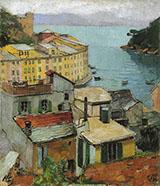 Portofino c1928 By Carl Moll