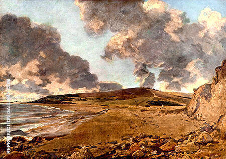 Weymouth Bay with Jordan Hill By John Constable