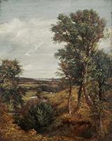 Dedham Vale 1802 By John Constable