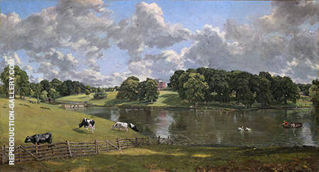 Wivenhoe Park 1816 By John Constable - Oil Paintings & Art Reproductions - Reproduction Gallery