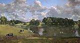Wivenhoe Park 1816 By John Constable