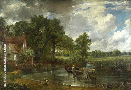 The Hay Wain 1821 By John Constable