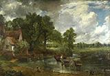The Hay Wain 1821 By John Constable