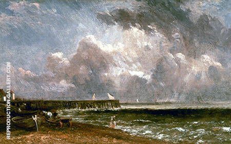 Yarmouth Pier By John Constable