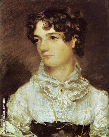 Maria Bicknell By John Constable