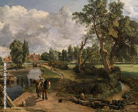 Flatford Mill 1817 By John Constable