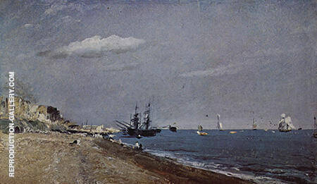 Brighton Beach with colliers By John Constable