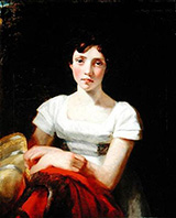 Portrait of Mary Freer 1809 By John Constable