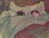 Dans Le Lit By Henri De Toulouse-lautrec