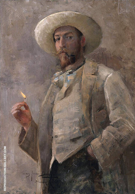 Gaines Ruger Donoho By John Lavery - Oil Paintings & Art Reproductions - Reproduction Gallery