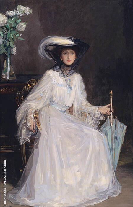 Evelyn Farquhar 1907 By John Lavery