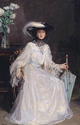 Evelyn Farquhar 1907 By John Lavery