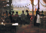 The Glasgow Exhibition 1888 By John Lavery