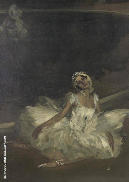 Le Mort du Cygne Anna Pavlova 1911 By John Lavery