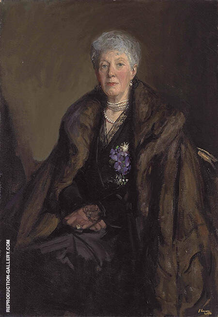 Lady Jackson 1919 By John Lavery