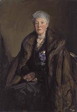 Lady Jackson 1919 By John Lavery