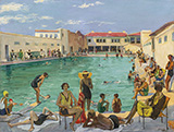 Winter in Florida c1927 By John Lavery