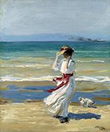 A Windy Day By John Lavery