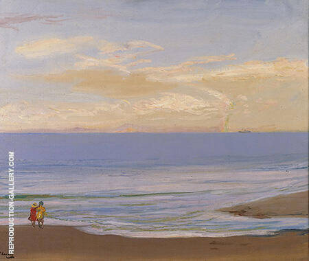 Beach Scene By John Lavery