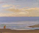 Beach Scene By John Lavery
