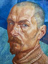 Autoritratto 1918 By Kuzma Petrov-Vodkin