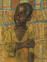 African Boy 1907 By Kuzma Petrov-Vodkin