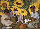The Sunflowers By Diego Rivera