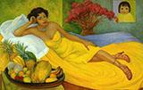 Sra. Dona Elena Flores de Carrillo By Diego Rivera