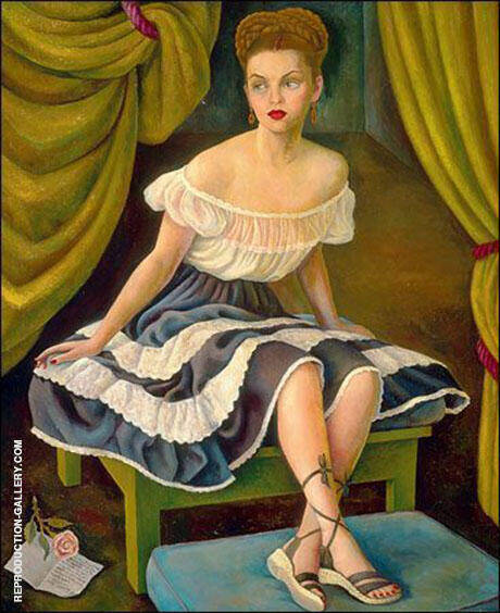 Portrait of Mrs Elisa Saldivar de Gutierrez Roldan 1946 By Diego Rivera